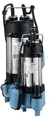 Насос погружной с поплавком Neptun WQV250F 0.25 кВт