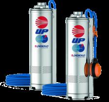 Pompa submersibila Pedrollo UPm2/4 0.75 kW pina la 61 m