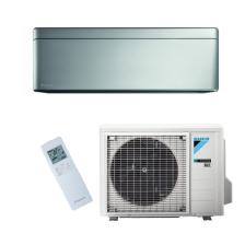 Conditioner STYLISH FTXA25AS+RXA25A silver A+++ 25m2 9000BTU Inverter