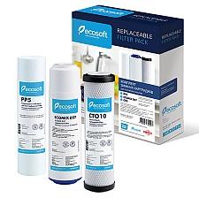 Set de cartuse Ecosoft pentru sistem triplu de filtrare