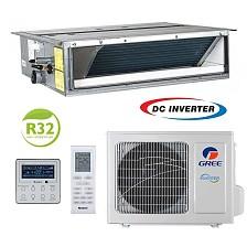 Conditioner de tip canal inverter Gree U-MATCH GUD140PHS/A-T+GUD140W/HhA-X 48000 BTU