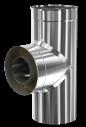 d. 100 - 180 Тройник дымоходный 90° (430 - 304)