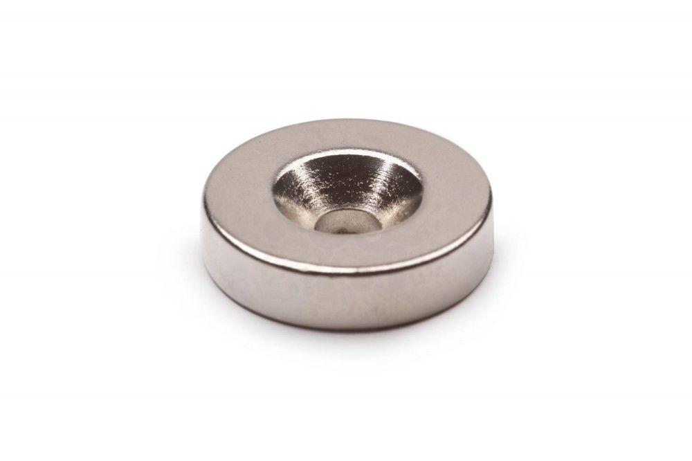 Magnet neodim DISC D10 - 7/3 х H3 pentru surub